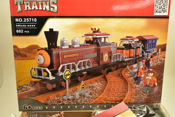 Steam Luxury Passenger Train w/ 2 Cars - Railroad Conveyance Trains-Toys & Hobbies:Building Toys:LEGO Building Toys:LEGO Complete Sets & Packs-ProTinkerToys.com