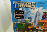 Orange Diesel Locomotive Passenger Train and Station - Railroad Conveyance Trains-Toys & Hobbies:Building Toys:LEGO Building Toys:LEGO Complete Sets & Packs-ProTinkerToys.com