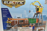 Diesel Container Train w/ Crane - Railroad Conveyance Trains Electric Deluxe-Toys & Hobbies:Building Toys:LEGO Building Toys:LEGO Complete Sets & Packs-ProTinkerToys.com