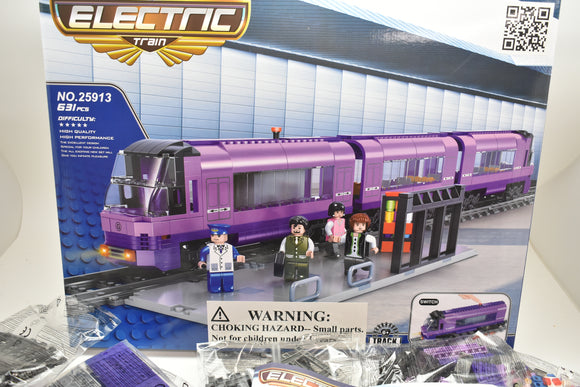 Bullet Passenger Train - Railroad Conveyance Trains Electric Deluxe-Toys & Hobbies:Building Toys:LEGO Building Toys:LEGO Complete Sets & Packs-ProTinkerToys.com