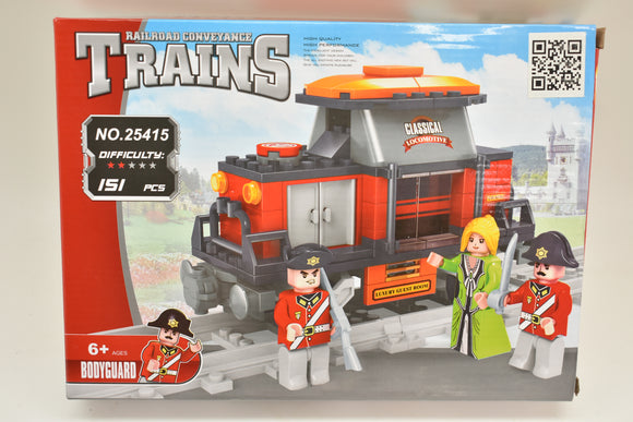 Classical Locomotive - Railroad Conveyance Trains-Toys & Hobbies:Building Toys:LEGO Building Toys:LEGO Complete Sets & Packs-ProTinkerToys.com