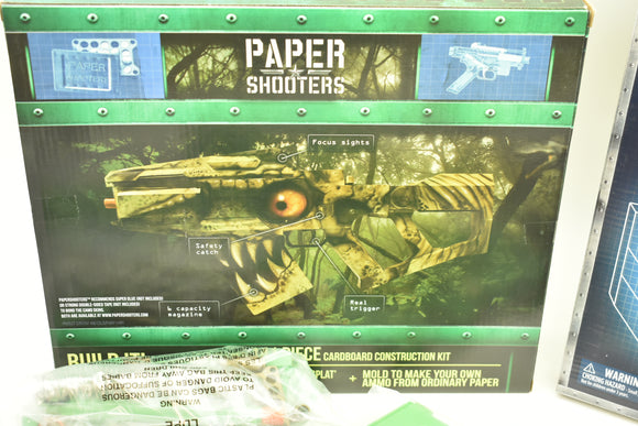 Extinction Blaster - Paper Shooter |19008| Combo w/ ammo/shells/mold/magazine-Sporting Goods:Outdoor Sports:Other Outdoor Sports-ProTinkerToys.com