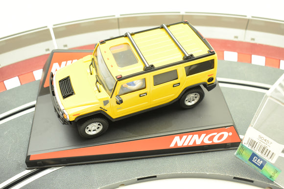 Hummer H2 Yellow 50457 – Ninco-Toys & Hobbies:Slot Cars:1/32 Scale:1970-Now-ProTinkerToys.com