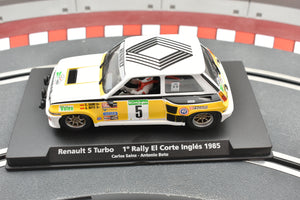 Renault 5 Turbo 1˚ Rally El Corte Ingles 1985 | 96073 | Fly Car-Toys & Hobbies:Slot Cars:1/32 Scale:1970-Now-ProTinkerToys.com