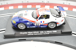 99009 FLY CAR 1/32 SCALE CHRYSLER VIPER GTS-R 24 H LE MANS 1998 JUSTIN BELL- DAVID DONOHUE- LUCA DRUDI-Toys & Hobbies:Slot Cars:1/32 Scale:1970-Now-ProTinkerToys.com