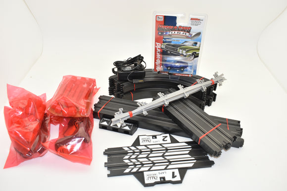 SC10001 MEGA LOT OF AUTO WORLD TRACK ,SUPPORTS,TRANSFORMER HAND THROTTLES OTHER PARTS-Toys & Hobbies:Building Toys:Building Toy Sets & Packs-ProTinkerToys.com