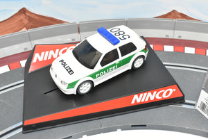 "50321 NINCO 1/32 SLOT VW GOLF ""POLICEI""-Toys & Hobbies:Slot Cars:1/32 Scale:1970-Now-ProTinkerToys.com"