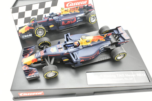 48627562 EVOLUTION/CARRERA 1/32 SLOT CAR RED BULL RACING TAG NEUER RB13