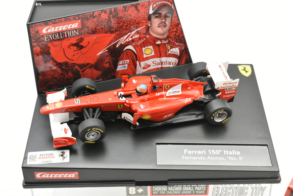 48627417 EVOLUTION/CARRERA 1/32 SLOT CAR FERRARI 150 ITALIA