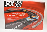 "B10122X100 SCX ANALOG 1/32 SUPER SLIDING CHICANE CURVE ""UNIVERSAL TRACK""-Toys & Hobbies:Slot Cars:1/32 Scale:1970-Now-ProTinkerToys.com"