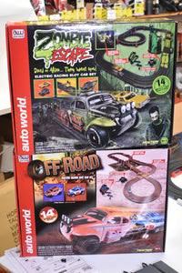 2 SET COMBO OFF ROAD & ZOMBIE SET-Toys & Hobbies:Slot Cars:HO Scale:1970-Now-ProTinkerToys.com