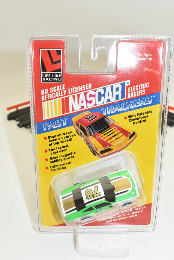 LIFE-LIKE RACING FAST TRACKERS # 9707 NASCAR #76-Toys & Hobbies:Slot Cars:HO Scale:1970-Now-ProTinkerToys.com