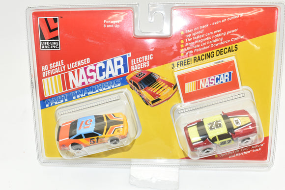 NASCAR 92 and 51 Twin Pack | 9709 | Life-Like Racing-Toys & Hobbies:Slot Cars:HO Scale:1970-Now-ProTinkerToys.com