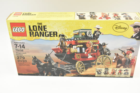 NEW SEALED LEGO 79108 THE LONE RANGER STAGECOACH ESCAPE-Toys & Hobbies:Building Toys:LEGO Building Toys:LEGO Complete Sets & Packs-ProTinkerToys.com