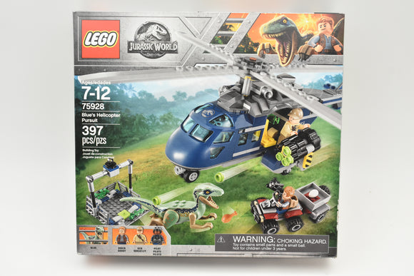 LEGO Jurassic World Blue's Helicopter Pursuit 397 Pcs (#75928) Brand New Sealed!-Toys & Hobbies:Building Toys:LEGO Building Toys:LEGO Complete Sets & Packs-ProTinkerToys.com
