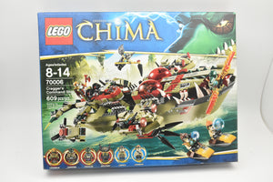 SEALED 70006 LEGO Legends Chima Craggers Command Ship LENNOX 609 pc set RETIRED-Lego-ProTinkerToys