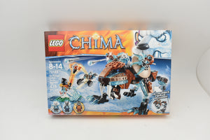 NEW Lego Legends of Chima Sir Fangar's Saber-Tooth Walker Set 70143 415 pcs-Toys & Hobbies:Building Toys:LEGO Building Toys:LEGO Complete Sets & Packs-ProTinkerToys.com