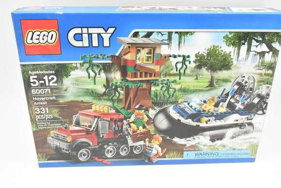 LEGO City Swamp Police 60071 Hovercraft Arrest New in Sealed Box. Retired. Rare!-Toys & Hobbies:Building Toys:LEGO Building Toys:LEGO Complete Sets & Packs-ProTinkerToys.com