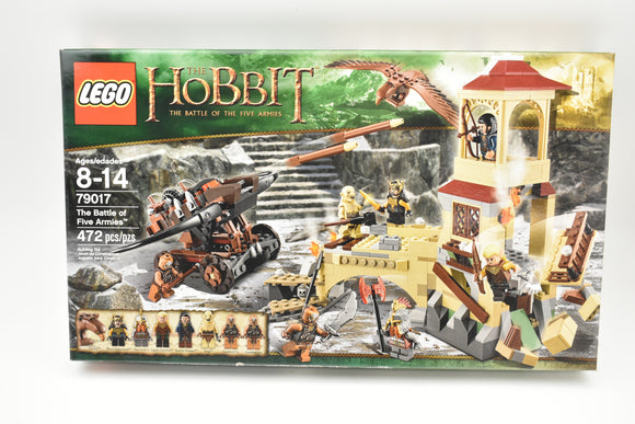 LEGO The Hobbit The Battle of Five Armies (79017) New in Sealed Box-Toys & Hobbies:Building Toys:LEGO Building Toys:LEGO Complete Sets & Packs-ProTinkerToys.com