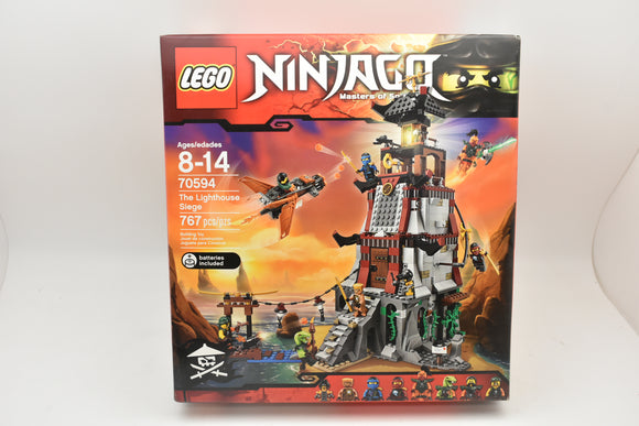 LEGO NINJAGO Masters of Spinjitzu 70594 THE LIGHTHOUSE SIEGE Set NEW Retired-Toys & Hobbies:Building Toys:LEGO Building Toys:LEGO Complete Sets & Packs-ProTinkerToys.com