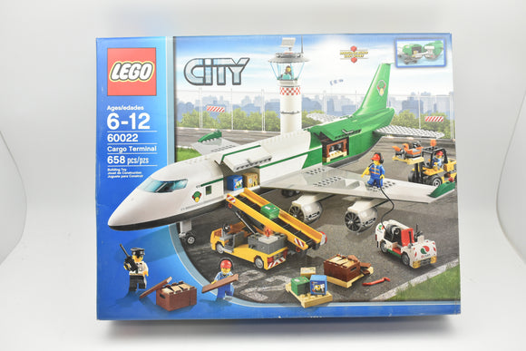 Lego City Cargo Terminal 60022 New Sealed 658 pcs 2013 Retired Set Jet Airplane-Toys & Hobbies:Building Toys:LEGO Building Toys:LEGO Complete Sets & Packs-ProTinkerToys.com