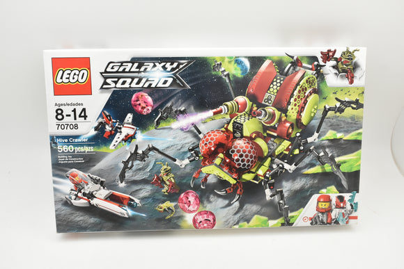 Lego Galaxy Squad 70708 Hive Crawler NEW/SEALED-Lego-ProTinkerToys