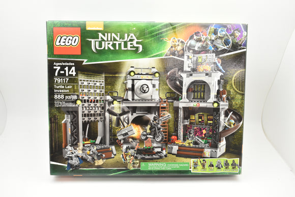 LEGO: NINJA TURTLES - TURTLE LAIR INVASION #79117 NEW IN BOX (M9)-Toys & Hobbies:Building Toys:LEGO Building Toys:LEGO Complete Sets & Packs-ProTinkerToys.com