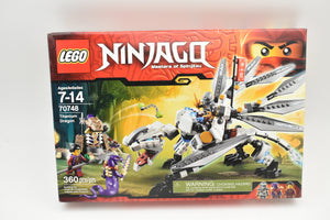 Lego 70748 Titanium Dragon, Ninjago, Brand New and Sealed-Toys & Hobbies:Building Toys:LEGO Building Toys:LEGO Complete Sets & Packs-ProTinkerToys.com