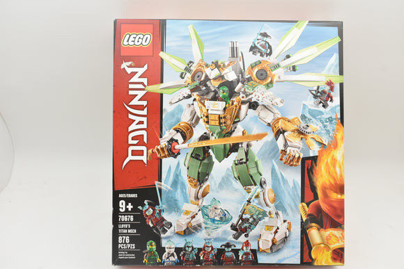 LEGO Ninjago 70676 Lloyd's Titan Mech NEW Sealed in box 876 Pieces-Toys & Hobbies:Building Toys:LEGO Building Toys:LEGO Complete Sets & Packs-ProTinkerToys.com