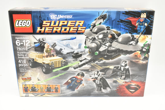 LEGO DC Universe Super Heroes Superman Battle of Smallville (76003) Man Of Steel-Lego-ProTinkerToys