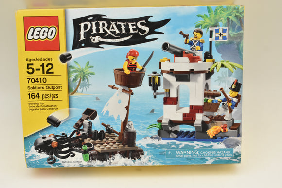 LEGO Pirates SOLDIERS OUTPOST 70410 OCTOPUS Bluecoat Sergeant RAFT Cannon SEALED-Toys & Hobbies:Building Toys:LEGO Building Toys:LEGO Complete Sets & Packs-ProTinkerToys.com