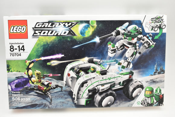 Galaxy Squad - Lego 70704 - Sealed Box - 506 Pieces - Vermin Vaporizer Retired-Toys & Hobbies:Building Toys:LEGO Building Toys:LEGO Complete Sets & Packs-ProTinkerToys.com