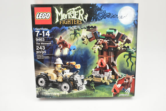 LEGO Monster Fighters The Werewolf (9463) Missing Mini Figures Werewolf & Steele-Lego-ProTinkerToys