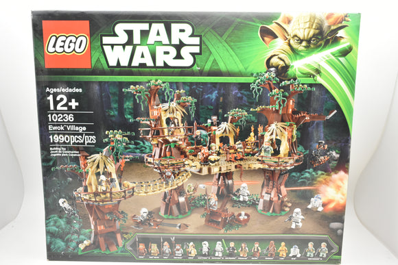 *BRAND NEW* LEGO STAR WARS Ewok Village 10236 *Box has creases*-Toys & Hobbies:Building Toys:LEGO Building Toys:LEGO Complete Sets & Packs-ProTinkerToys.com
