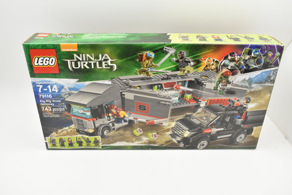 LEGO 79116 - Teenage Mutant Ninja Turtles - Semi Big Rig Snow Getaway-Lego-ProTinkerToys