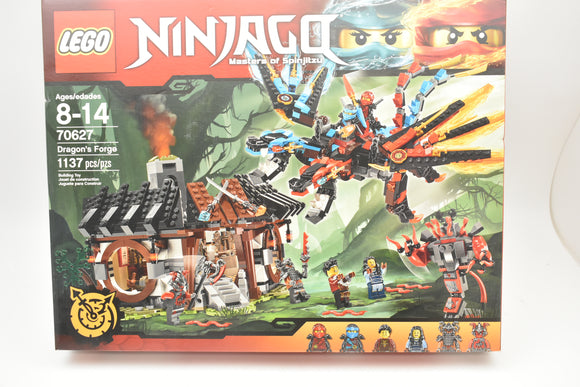 LEGO NINJAGO Master of Spinjitzu 70627 DRAGON'S FORGE Retired NEW Factory Sealed-Toys & Hobbies:Building Toys:LEGO Building Toys:LEGO Complete Sets & Packs-ProTinkerToys.com