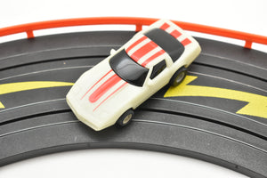 TYCO 7028B 1/64 SLOT CARS GLOW-IN-THE-DARK -WITH RED STRIPS CHEVY CORVETTE 440-Toys & Hobbies:Slot Cars:HO Scale:1970-Now-ProTinkerToys.com