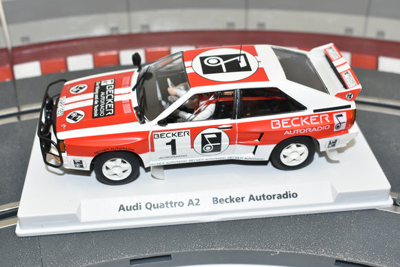 99044 FLY RACING CAR MODEL 1/32 AUDI QUATTRO A2 LIMITED EDITION BECKER AUTORADI-Toys & Hobbies:Slot Cars:1/32 Scale:1970-Now-ProTinkerToys.com