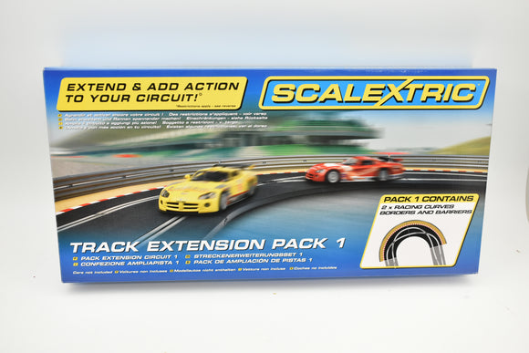 Scalextric Track Extension Pack 1 | C8510 | Scalextric-Toys & Hobbies:Slot Cars:1/32 Scale:1970-Now-ProTinkerToys.com
