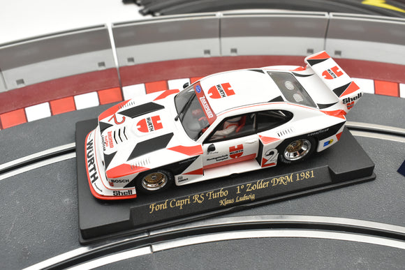 A146|  FLY SLOT CAR 1-32 /FORD CAPRI RS TURBO 1 ZOLDER 1981-Fly-ProTinkerToys