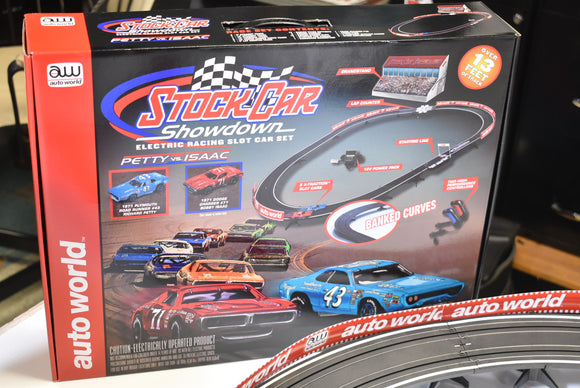 13' Stock Car Showdown X-Traction | SRS329 | Auto World-Toys & Hobbies:Slot Cars:HO Scale:1970-Now-ProTinkerToys.com