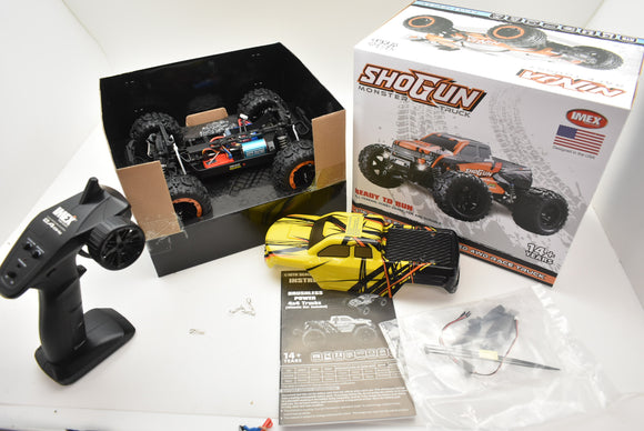 Shogun Monster Truck | IMX19015 | Brushless | Ready To Run 1/16| IMEX |Blue/Yellow-IMEX-ProTinkerToys