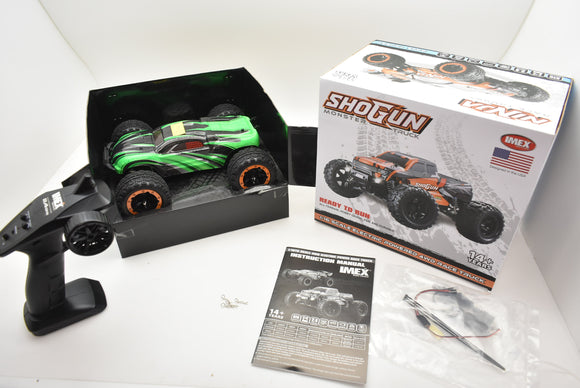 NINJA MONSTER TRUCK | IMX19020 | BRUSHED | READY TO RUN 1/16| IMEX | ORANGE/GREEN-Toys & Hobbies:Radio Control & Control Line:RC Model Vehicles & Kits:Cars, Trucks & Motorcycles-ProTinkerToys.com