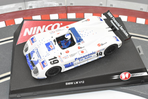 Ninco 1/32 Slot Cars |  BMW V12 LM
