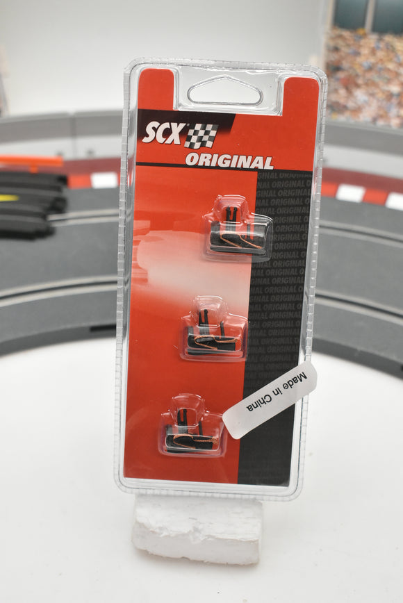 A08876X400 SCX 1/32 SLOT CAR F-1 GUIDE WITH BRAIDS (3) with Fitted Braids.-Toys & Hobbies:Slot Cars:1/32 Scale:1970-Now-ProTinkerToys.com