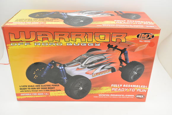 WARRIOR BUGGY|RC Truggy Brushed Motor | 18020 | IMEX| 1/10TH 4WD-Toys & Hobbies:Radio Control & Control Line:RC Model Vehicles & Kits:Cars, Trucks & Motorcycles-ProTinkerToys.com