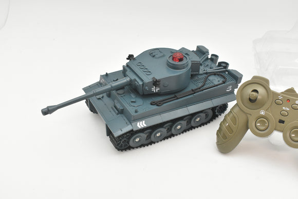 JJRC Q85| 1/30 2.4 G Mattle RC Tanks Car Vehicle Model Blue German Tiger Tank|-Unbranded-ProTinkerToys
