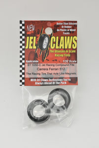 ST 1050-C 1/32 Scale Slot Car Tires | 2 Tires JEL CLAWS|-Toys & Hobbies:Slot Cars:1/32 Scale:1970-Now-ProTinkerToys.com