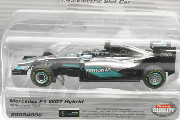 "Mercedes F1 W07 Hybrid ""N. Rosberg, No. 6"" 