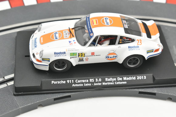 Porsche 911 RS 3.0 Rallye Madrid 2013 | 036106 | Fly Slot 1/32 Slot Car-Toys & Hobbies:Slot Cars:1/32 Scale:1970-Now-ProTinkerToys.com